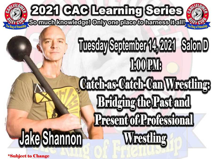 Catch-as-Catch-Can Wrestling: Bridging the Past and Present of Professional Wrestling